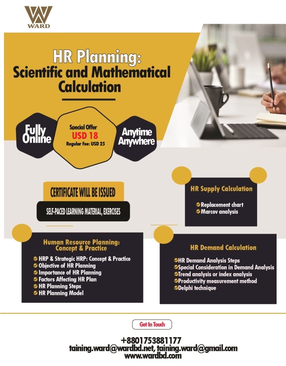 HR Planning: Scientific and Mathematical Calculation