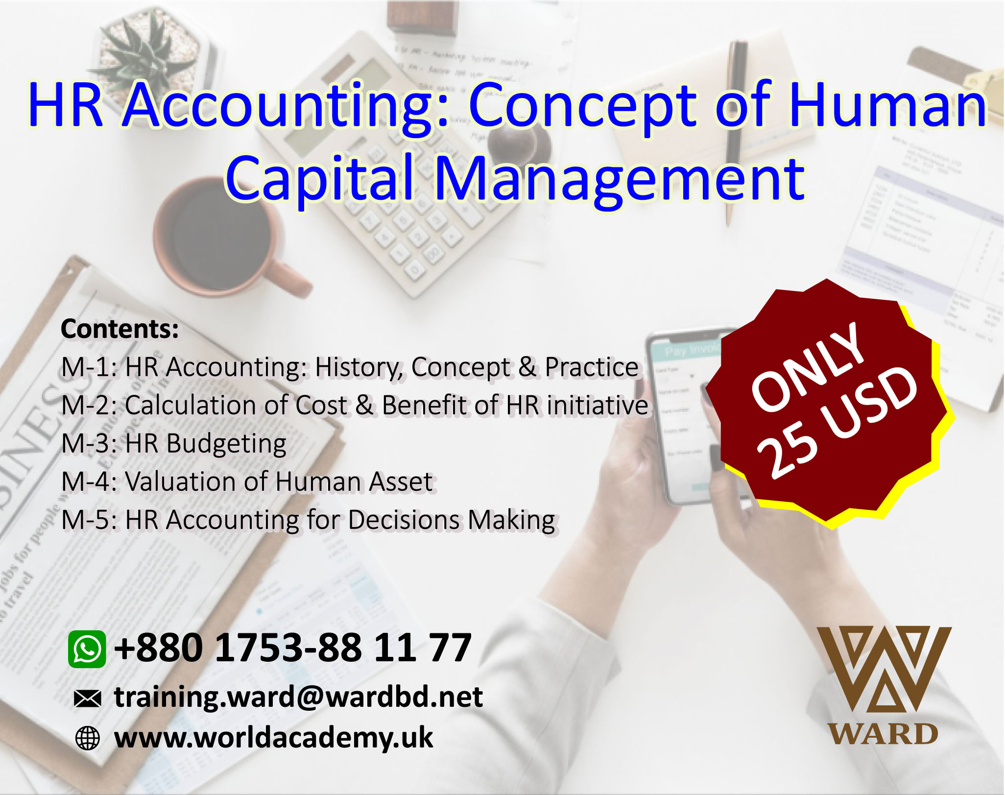 HR Accounting: Concept of Human Capital Management - Online