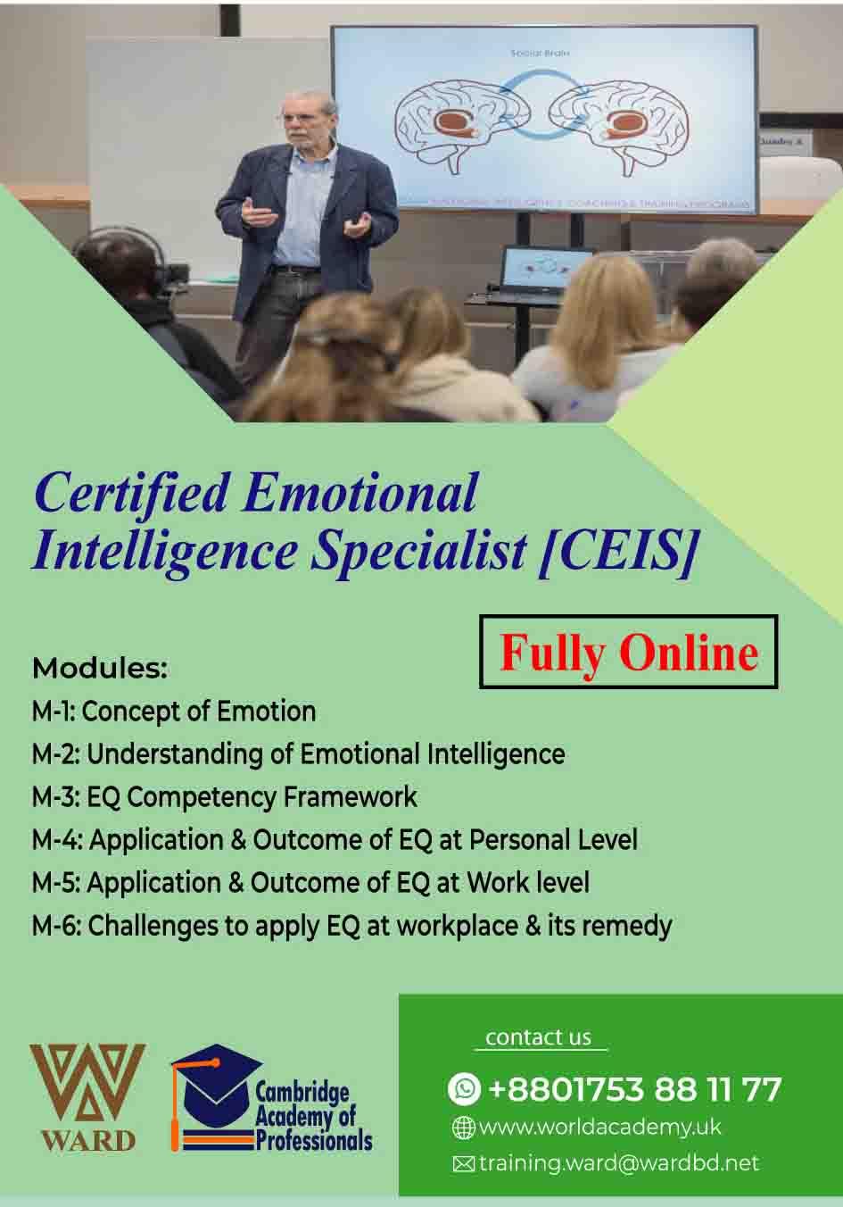 Certified Emotional Intelligence Specialist [CEIS]