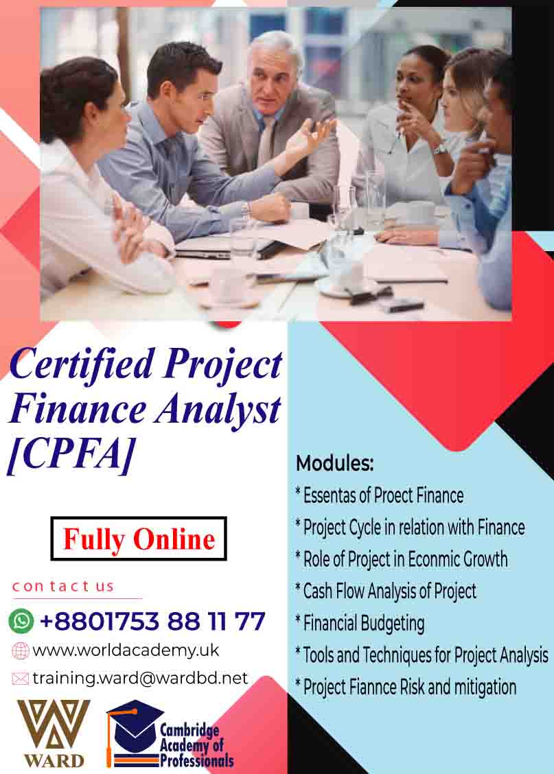 Certified Project Finance Analyst [CPFA]